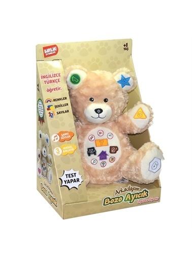Birlik Oyuncak Birlik Oyuncak D13154368 Sesli Arkadaşım Bozo Peluş Çocuk Ayıcık Oyuncağı Renkli
